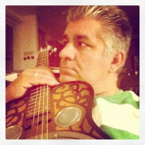 A shot of me with my dobro