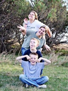 "My amazing kids, taken by ""Hunny Bee Photograpy"": Amy Renz"