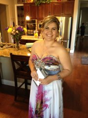 My gorgeous girl . . . junior prom