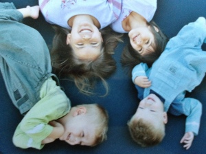 My four munchkins...