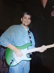 The guitarist...