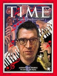 Dave Brubeck on the Cover of Time