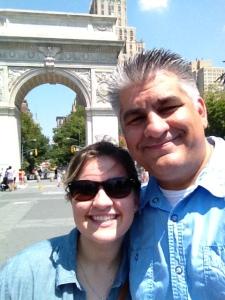 Abbi & I in New York
