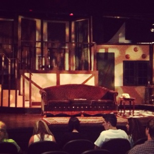 The set for Noises Off