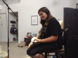 Hannah on Guitar