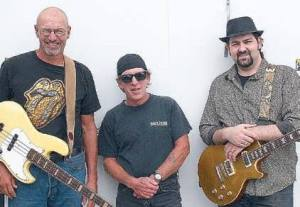 The Manoucheri Trio: from left: Orv Morrow, George Marshall, Adam Manoucheri
